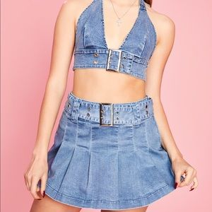 Maxim Capacity Pleated Skirt